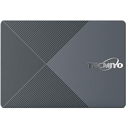 """TECMIYO SSD 120GB Unidad de Estado sólido SATA SSD NAND Interna 6 GB/s, 2,5 Pulgadas / 7 mm (0,28"""") 3D NAND Velocidad de Lectura hasta 500 MB/s SATA III 120GB SSD (SATA3-120GB)"""