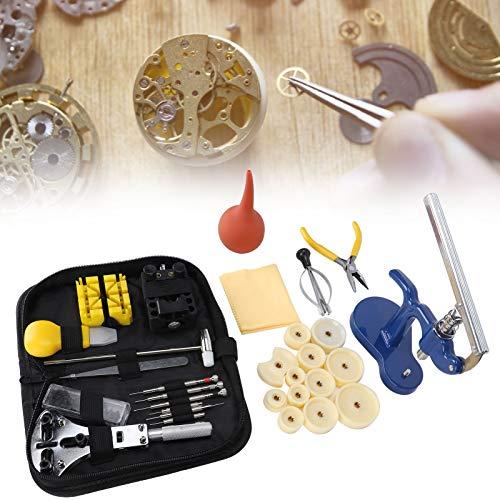 Juego de abridor de reloj liviano, kit de reparación de reloj de resistencia de alta calidad, para reparación de relojes