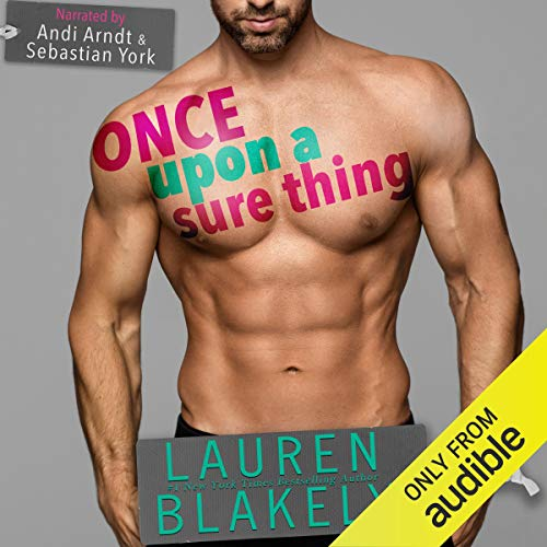 Once upon a Sure Thing audiobook cover art