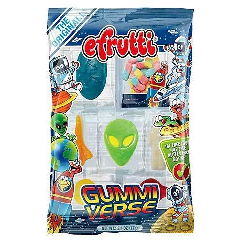 efrutti Gummi Verse Space Gummy Candy, 2.7 Ounce