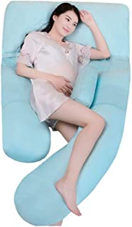 ZSEFV Pregnancy Body Pillow Total Body Pregnancy Wrap Around Ultra Supportive Sleeping Pillow for Belly, Knees and Back Support