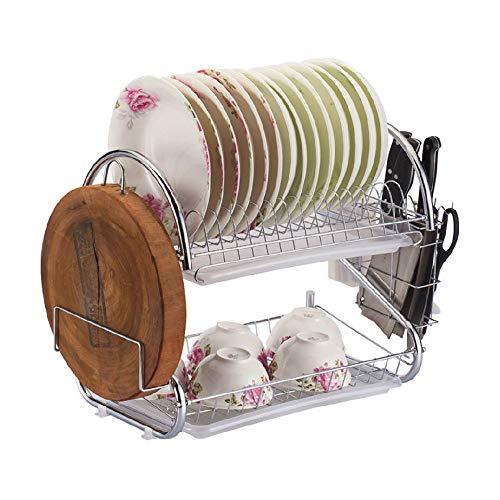 Küchenregal Multifunktion Würze Gestell Mehrschichtig Besteck Abtropffläche Soße Lagerregal Boxen-Regal zur platzsparenden Kastenhalterung Bequemlichkeit