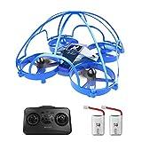 Drone per Bambini AT-66D Mini Drone con Induzione a Infrarossi Protezioni Telaio Giocattolo...