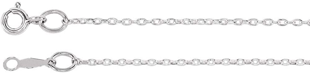 55% OFF Ryan Jonathan All items free shipping Fine Jewelry Sterling 1mm Cable Silver Neckl Chain