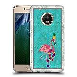 Head Case Designs Officiel Suzan Lind Flamant Oiseaux Coque en Gel Doux Compatible avec Motorola...