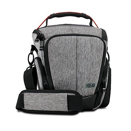 USA GEAR Caison per Fotocamere SLR / DSLR - Borsa a tracolla per il trasporto - Ideale per Canon EOS 700D , 100D , 750D / Nikon D3300 , D5300 e altro