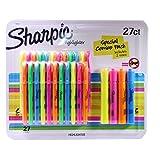 Sharpie–Juego de rotuladores fluorescentes (bolsillo, punta cuadrada, colores surtidos, 12-Count