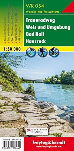 WK 054 Traunradweg - Wels und Umgebung - Bad Hall - Hausruck, Wanderkarte 1:50.000 (freytag & berndt Wander-Rad-Freizeitkarten)