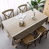 sans_marque Manteles, tableros de mesa, textiles para el hogar, elegantes manteles bordados, modernos manteles antiguos, manteles de lujo 140*260cm