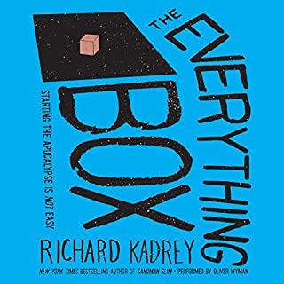 The Everything Box audiobook cover art