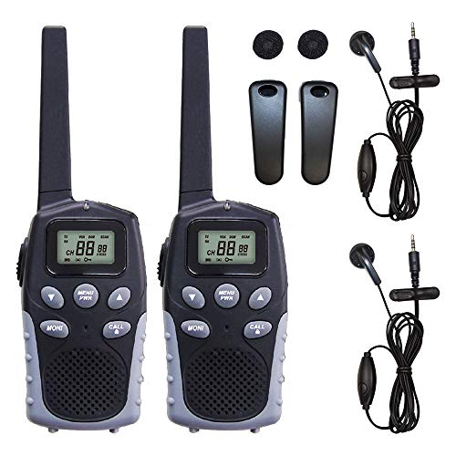 BLUE CENTURY BC-20 Domestic Manufacturer, Blue Century Specific Small Power Transceiver, Set of 2 Units & Earbud Microphone/Belt Clip Included