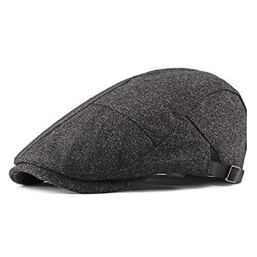 Literarische Baumwolle Baskenmütze Lässige Mode Klassische Retro Hut Forward Cap...