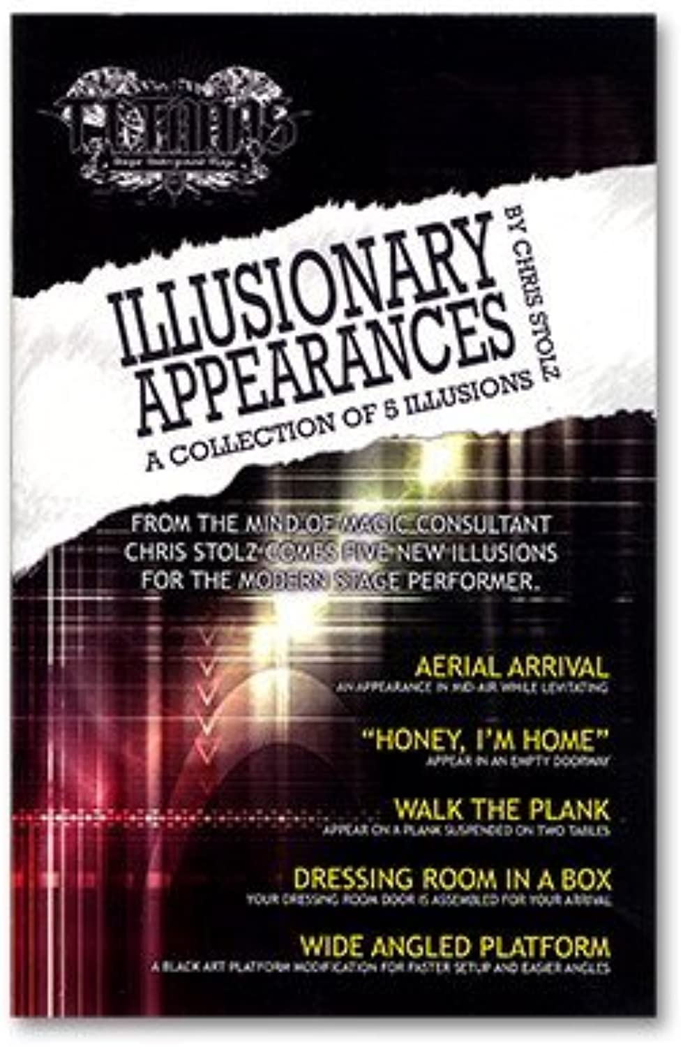 Murphys Illusionary Appearances by Chris Stolz and Titanas - Book