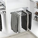 Casaenorden - Pantalonero extraíble lateral - 10 pantalones - Percha pantalón