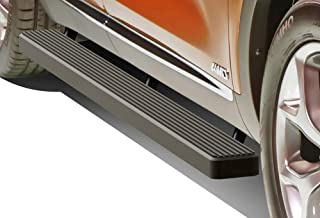 APS iBoard Running Boards 5 inches Matte Black Custom Fit 2014-2015 KIA Sorento Sport Utility 4-Door (Nerf Bars Side Steps Side Bars)