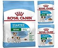 Royal Canin MIX PACK Mini Starter Mother & Babydog + 2 pouches x 85g Royal Canin Puppy Mini