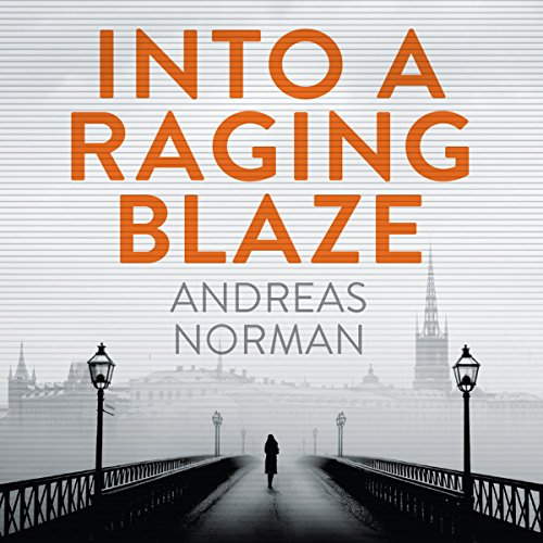 Into a Raging Blaze audiobook cover art