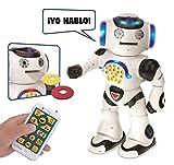 LEXIBOOK Powerman: el Robot Educativo Inteligente para Jugar y Aprender, Baila,...