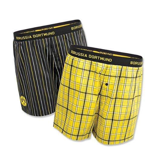 BVB 09 Borussia Dortmund Boxershort 2er-Pack Gr. XXL Baumwolle