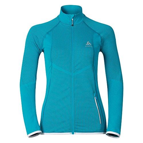 Odlo Damen Jacket Velocity Light Jacke, Algier blau, XS
