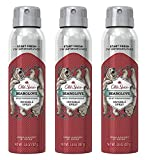 Old Spice Antiperspirant and Deodorant for Men, Invisible Spray, Bearglove Scent, 3.8 Oz / 107 g x 3 Pack
