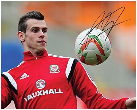 Photo Gareth Bale Wales Signed Autographed 8 x 10 product image