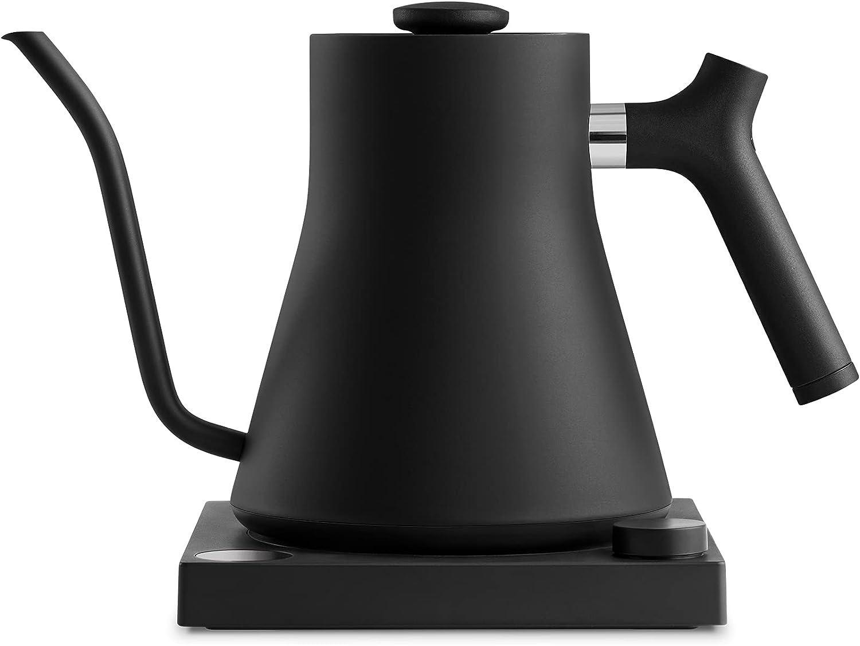 Fellow 1137 - Hervidor eléctrico (1200 W), color negro