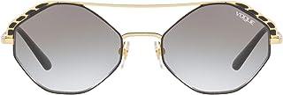فوغ نظارة شمسية للنساء ، عدسات ذات لون رمادي