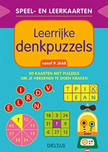 Speel- en leerkaarten - Leerrijke denkpuzzels (vanaf 9 jaar): 50 kaarten met puzzels om je hersenen te laten kraken