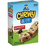 Quaker Chewy Granola Bars, Chocolate Chip, 58 Count (Pack of 1)