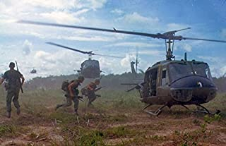 Home Comforts Soldiers Military Dust Vietnam War Helicopters Laminated Poster Print 24 x 36