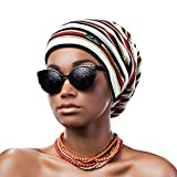 Hair Cap,Adjustable Silk Satin Lined Sleep in Gifts for Women