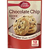 Betty Crocker Baking Mix, Chocolate Chip Cookie Mix, Snack Size, 7.5...