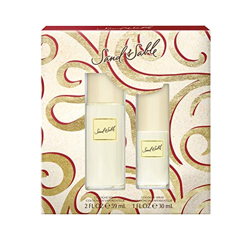 Sand & Sable Cologne Spray, 2-Ounce and 1-Ounce Bottles, Total Retail Value $37.00