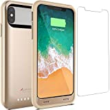 Alpatronix Battery Case for iPhone X/XS, BX10 4000mAh Slim Rechargeable Protective Portable Charger Case External...