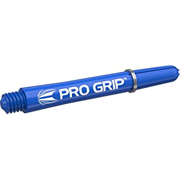 Target Darts 3 x Sets of Red Pro Grip Shaft Medium-9 in Total Ca/ñas para Dardos Rojo