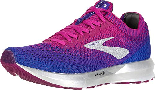 Brooks Womens Levitate 2 Running Shoe - Aster/Purple/Blue - B - 8.0