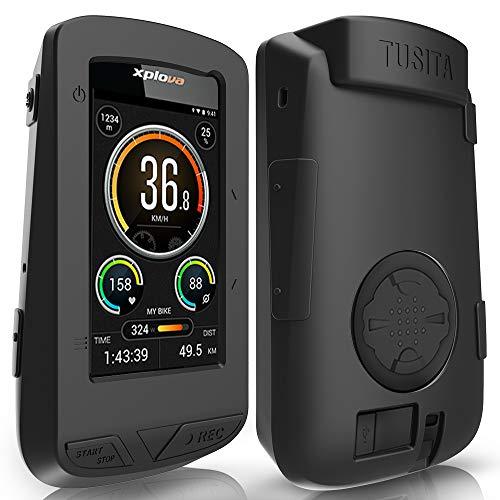 TUSITA Funda para XPLOVA X5 EVO - Protectora de Silicona Skin - Accesorios para computadora con GPS
