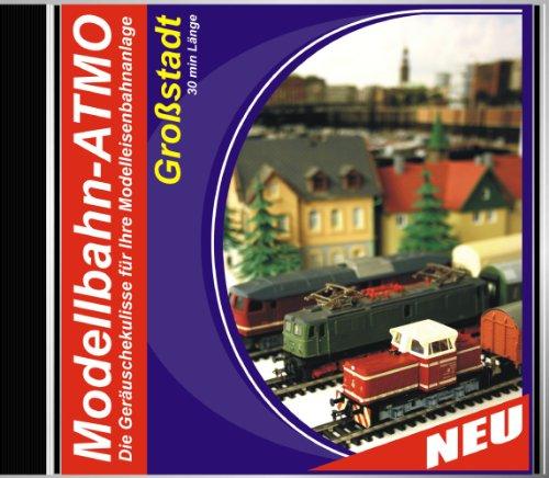 CD Modellbahn-Atmo/Die Geräuschekulisse für Ihre Modelleisenbahnanlage (Bahnhof-Großstadt)