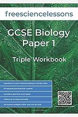 Freesciencelessons GCSE Biology Paper 1: Triple Workbook (Freesciencelessons GCSE Triple Science) Paperback