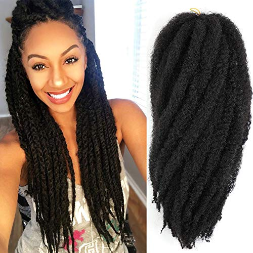 3 Packs Marley Braiding Hair Afro Kinky Marley...