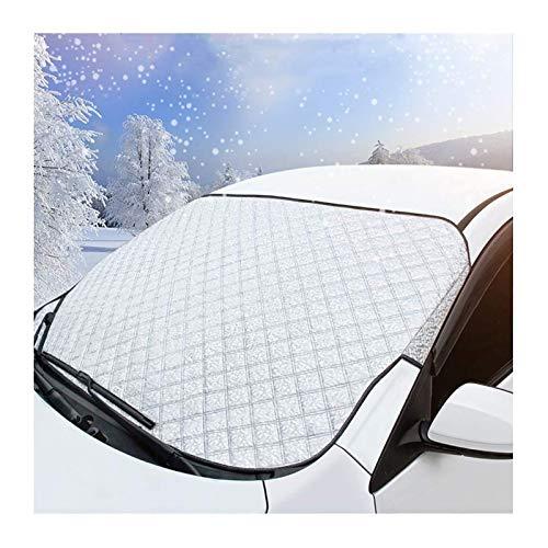 GYYlucky Protector de Parabrisas, Cubierta de Parabrisas de automóvil para la mayoría de los vehículos, protección contra el Hielo, Cubierta de Lluvia Anti-Ultravioleta