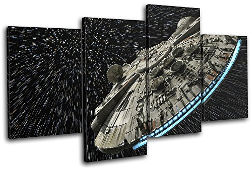 Star Wars Battlefront Gaming TREBLE CANVAS WALL ART Picture Print