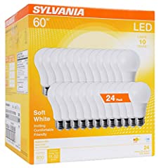 These LED lamps make an energy-efficient replacement and substitute for standard 60 watt incandescent lamps. At 8. 5 watts, each bulb emits the bright light output of 800 lumens These bulbs are a great energy-saving replacement for old incandescent b...