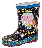 Peppa Pig George Pig Astronaut 3D Botas de agua de lluvia para niños, color, talla 22 EU