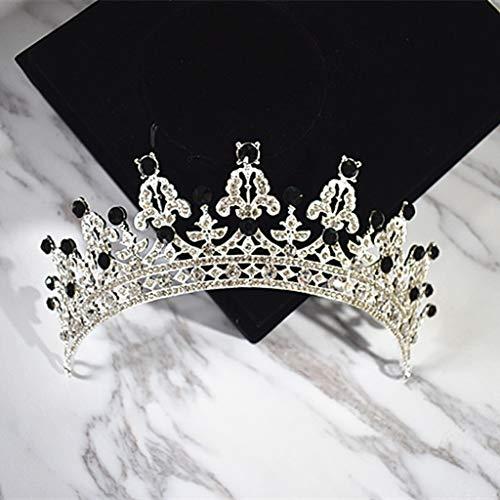 Accesorios para el cabello Tiara Semi Circular Corona Vestido de novia Accesorios...