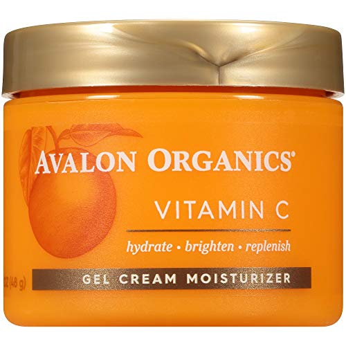 Avalon Organics Vitaminc Gel Cream Moisturizer, 1.7 Ounce