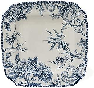 222 Fifth Blue Adelaide Dinnerware (Dinner Plate, Set of 2)