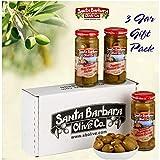 Santa Barbara Olive Co | Premium Individually Hand Stuffed | VARIETY PACK COMBO | 3 Pack (5 oz jars)...
