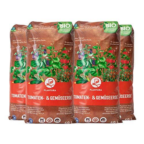 Plantura Bio Tomaten- & Gemüseerde, 160 L, torffrei & klimafreundlich, vorgedüngt